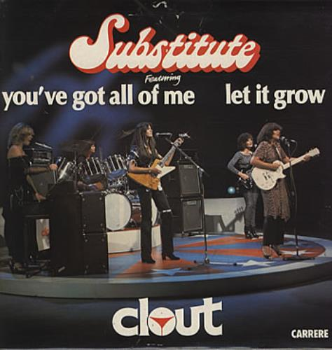 Clout Substitute Uk Vinyl Lp Album Lp Record 314859