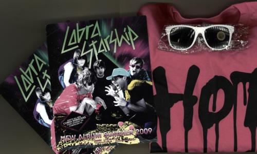 Cobra Starship Hot Mess - medium ladies T-shirt set memorabilia US CO6MMHO494422