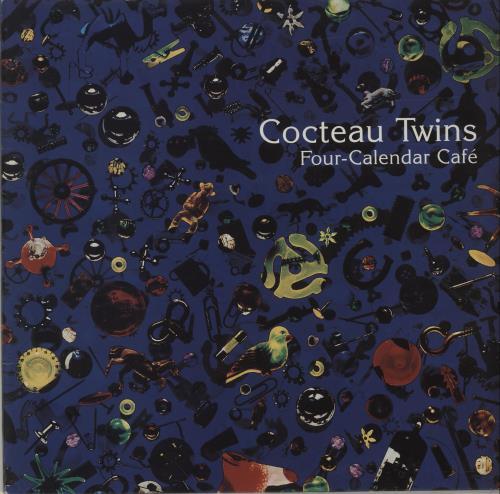 Cocteau Twins Four-Calendar Cafe vinyl LP album (LP record) UK COCLPFO250204