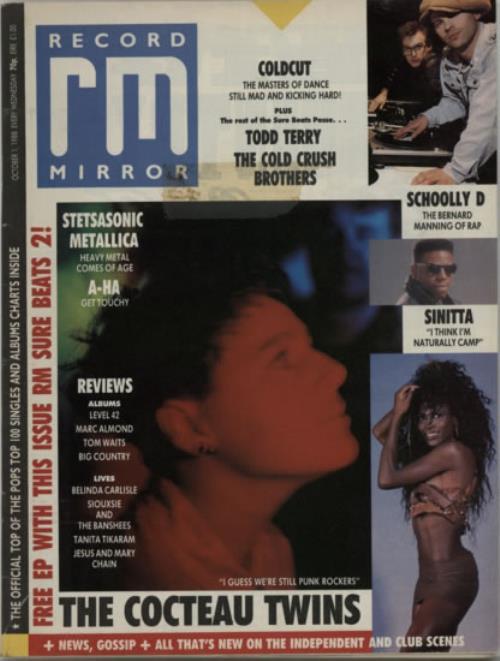 Cocteau Twins Record Mirror magazine UK COCMARE607901