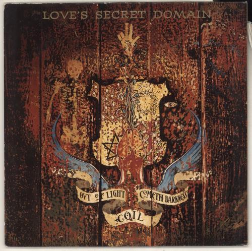 Coil Love's Secret Domain vinyl LP album (LP record) UK COILPLO734435