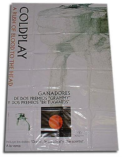 Coldplay A Rush Of Blood to The Head display Mexican DPYDIAR248419