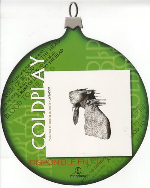 Coldplay A Rush Of Blood To The Head display Mexican DPYDIAR267723