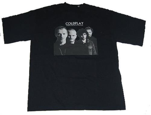 Coldplay A Rush Of Blood To The Head t-shirt US DPYTSAR367165