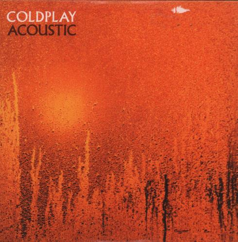 "Coldplay Acoustic CD single (CD5 / 5"") UK DPYC5AC170750"