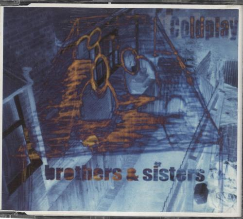 """Coldplay Brothers & Sisters CD single (CD5 / 5"""") UK DPYC5BR167448"""