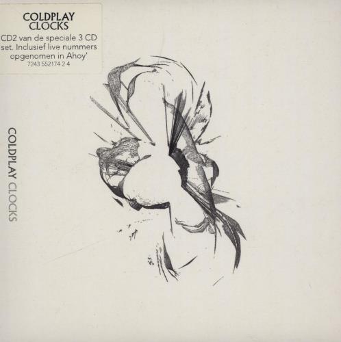 Coldplay Clocks - Dutch Triple Pack 3-CD album set (Triple CD) Dutch DPY3CCL270212