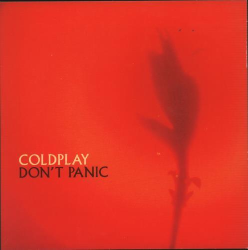 "Coldplay Don't Panic CD single (CD5 / 5"") Dutch DPYC5DO189443"