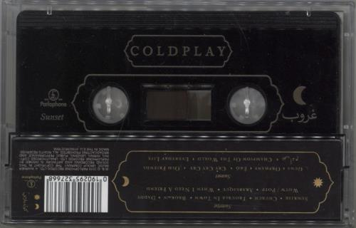 Coldplay Everyday Life cassette album UK DPYCLEV772049