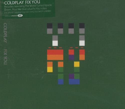 "Coldplay Fix You CD single (CD5 / 5"") UK DPYC5FI334457"