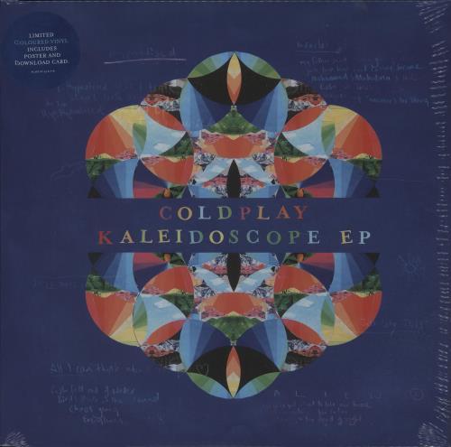 "Coldplay Kaleidoscope EP - Blue Vinyl + Sealed 12"" vinyl single (12 inch record / Maxi-single) UK DPY12KA677846"