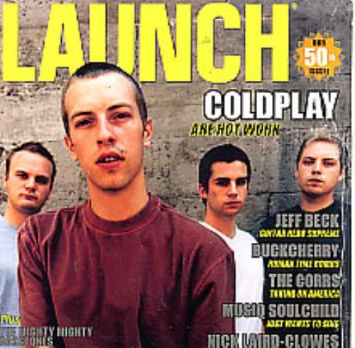 Coldplay Launch #50 CD-ROM US DPYROLA271510