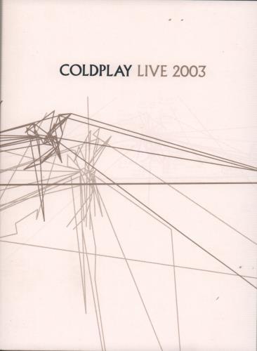 Coldplay Live 2003 2-disc CD/DVD set UK DPY2DLI262105