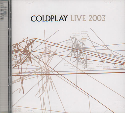 Coldplay Live 2003 2-disc CD/DVD set German DPY2DLI637324