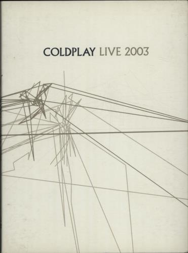 Coldplay Live 2003 2-disc CD/DVD set UK DPY2DLI680893