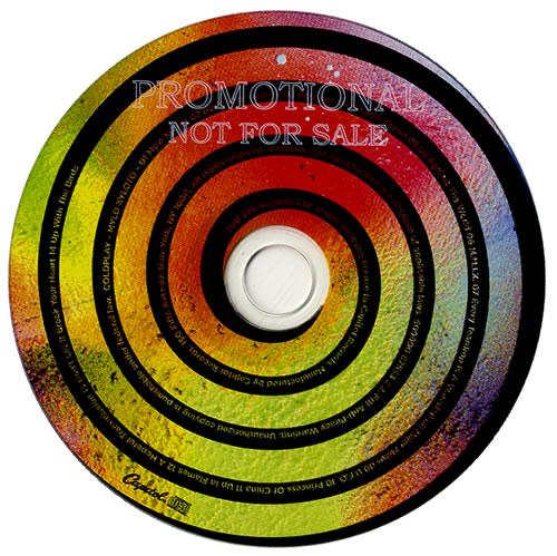 Coldplay Mylo Xyloto CD album (CDLP) US DPYCDMY550334