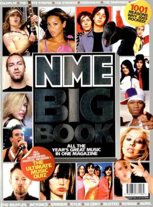 Coldplay NME Big Book magazine UK DPYMANM485976
