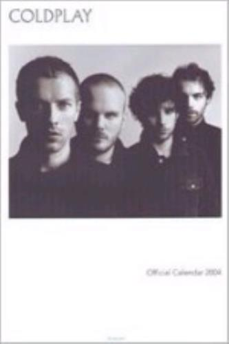 Coldplay Official Calendar 2004 calendar UK DPYCAOF263626