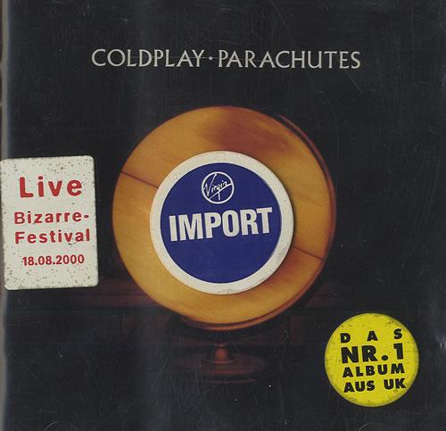 Coldplay Parachutes US CD album (CDLP) (498172)