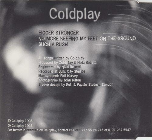 "Coldplay Safety EP CD single (CD5 / 5"") UK DPYC5SA269292"