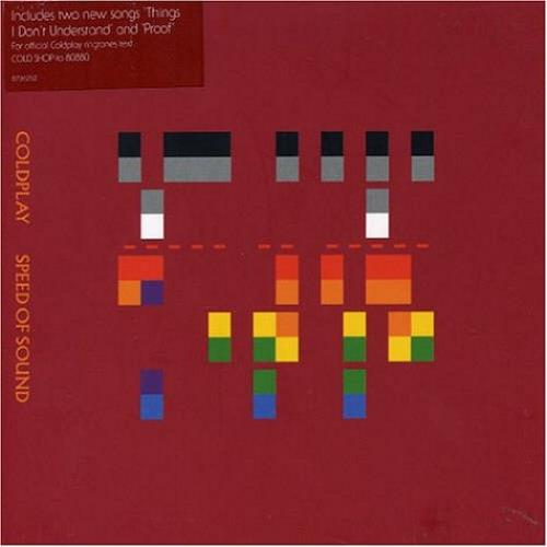 """Coldplay Speed Of Sound CD single (CD5 / 5"""") UK DPYC5SP324575"""