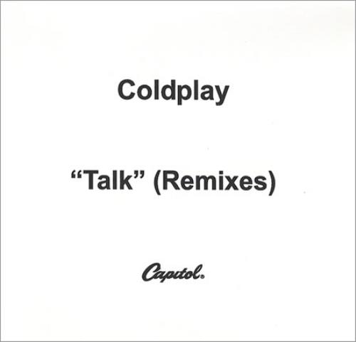 Coldplay Talk - Remixes CD-R acetate US DPYCRTA377827