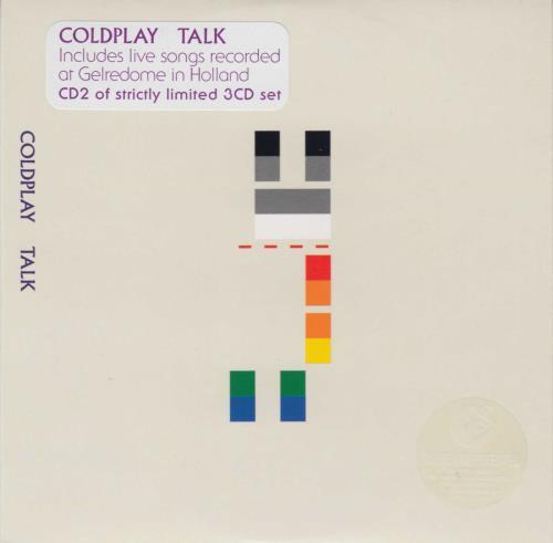 Coldplay Talk 3-CD album set (Triple CD) Dutch DPY3CTA386610