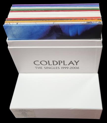 "Coldplay The Singles 1999-2006 7"" box set UK DPY7XTH771704"