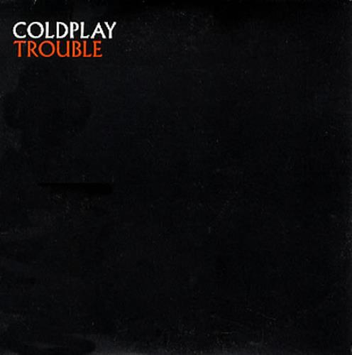 """Coldplay Trouble CD single (CD5 / 5"""") UK DPYC5TR165867"""