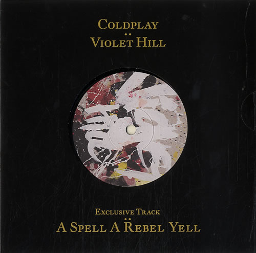 "Coldplay Violet Hill 7"" vinyl single (7 inch record) UK DPY07VI625817"