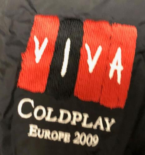 Coldplay Viva - Europe 2009 jacket UK DPYJAVI729128