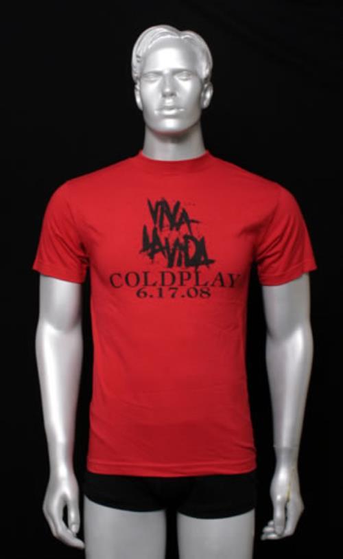 Coldplay Viva La Vida - Small t-shirt US DPYTSVI548731