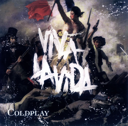 Coldplay Viva La Vida memorabilia US DPYMMVI445842