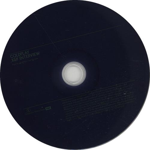 Coldplay X&Y Interview CD album (CDLP) UK DPYCDXY333723