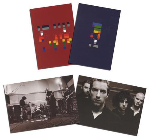 Coldplay X&Y handbill UK DPYHBXY347650