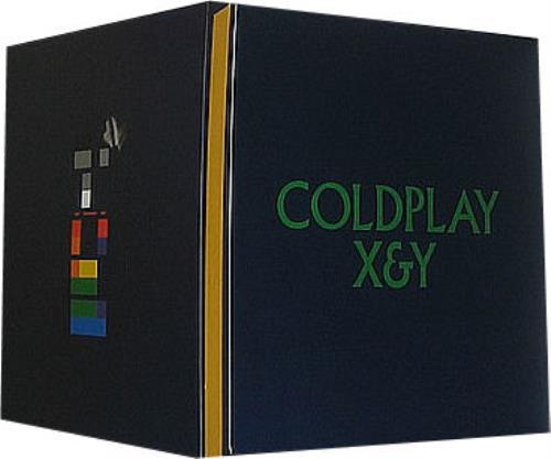 Coldplay X&Y display US DPYDIXY354614