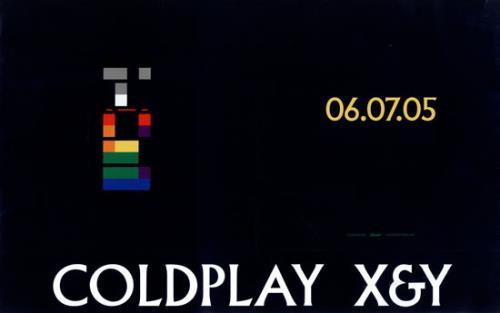 Coldplay X&Y display US DPYDIXY480575