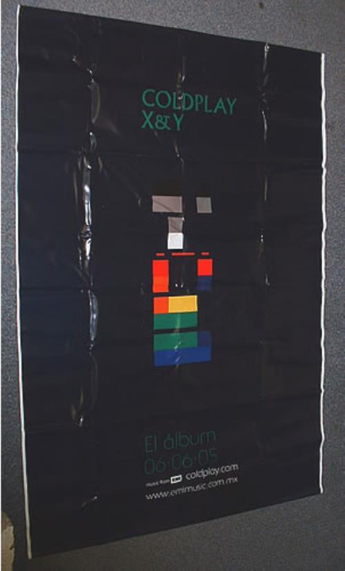 Coldplay X & Y display Mexican DPYDIXY326661