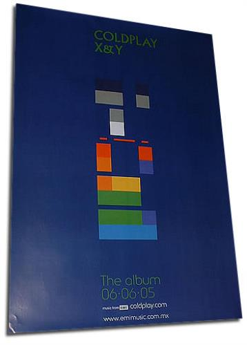Coldplay X & Y poster Mexican DPYPOXY328651