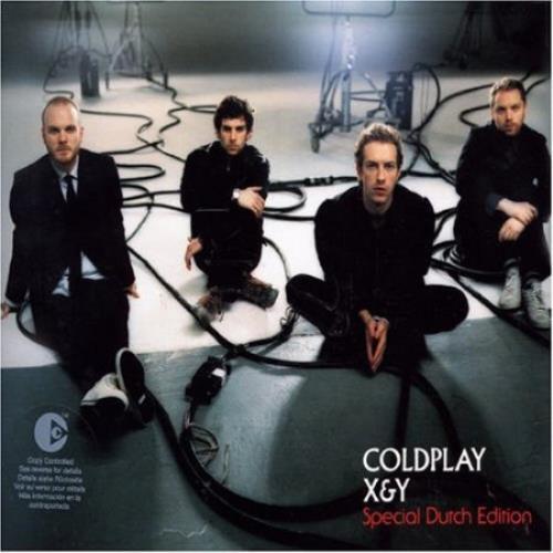 Coldplay X & Y 2 CD album set (Double CD) Dutch DPY2CXY365095
