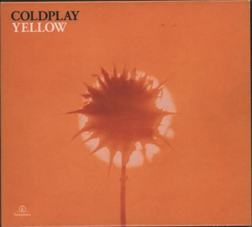 "Coldplay Yellow - Digipak CD single (CD5 / 5"") UK DPYC5YE159377"