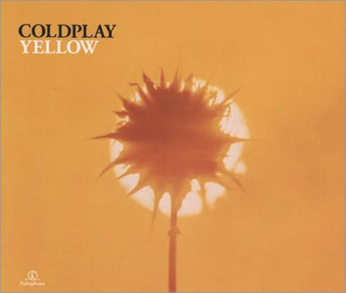 "Coldplay Yellow - Jewel Case CD single (CD5 / 5"") UK DPYC5YE184839"