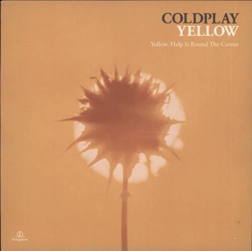 "Coldplay Yellow 7"" vinyl single (7 inch record) UK DPY07YE182816"