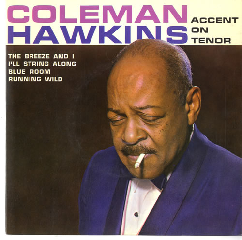 "Coleman Hawkins Accent On Tenor EP 7"" vinyl single (7 inch record) UK CH307AC596043"