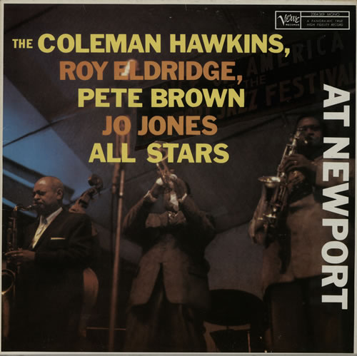 Coleman Hawkins All Stars At Newport vinyl LP album (LP record) German CH3LPAL566398