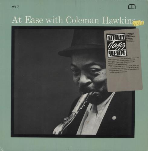 Coleman Hawkins At Ease With Coleman Hawkins vinyl LP album (LP record) US CH3LPAT361392