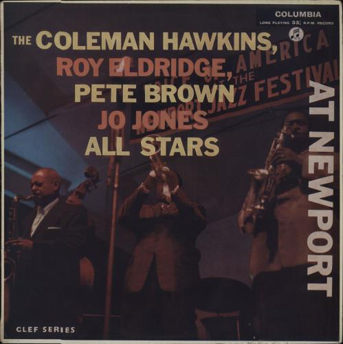 Coleman Hawkins At Newport - Factory Sample vinyl LP album (LP record) UK CH3LPAT675572