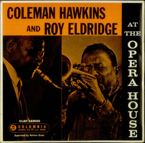 "Coleman Hawkins At The Opera House EP 7"" vinyl single (7 inch record) UK CH307AT548094"