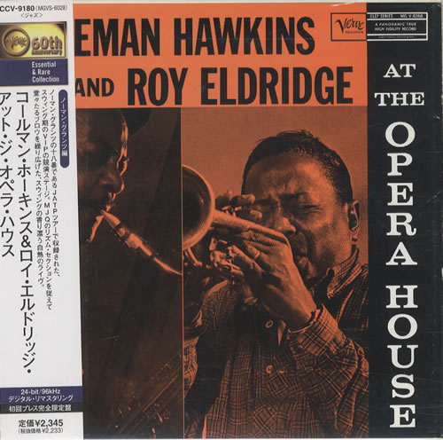 Coleman Hawkins At The Opera House CD album (CDLP) Japanese CH3CDAT453086