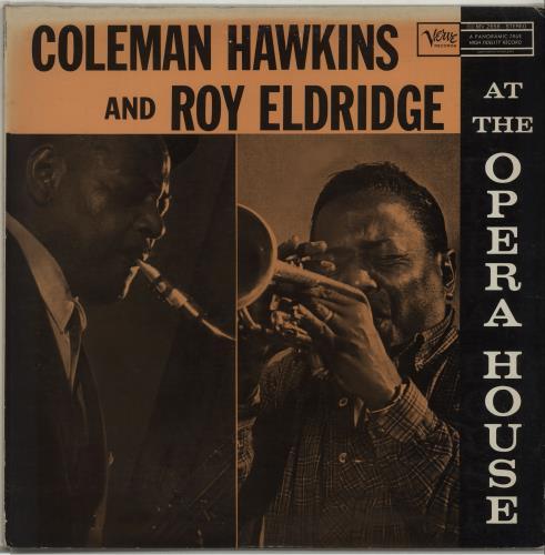 Coleman Hawkins At The Opera House vinyl LP album (LP record) Japanese CH3LPAT675295